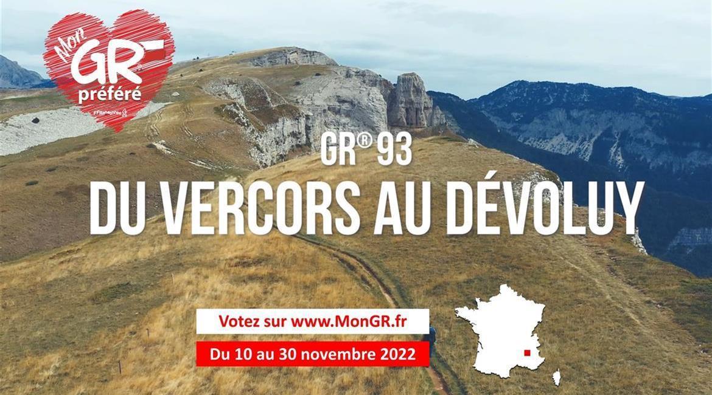 Mon GR® Préféré Votez pour le GR® de Pays Tour du Beaufortain !