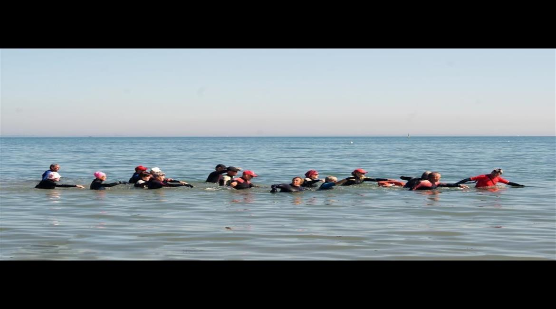 PRATIQUE : La Marche aquatique côtière-longe côte en Haute Savoie