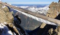 MONT BLANC : Démantèlement d'un équipement obsolète à Chamonix
