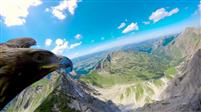ALPES : La  montagne en survol